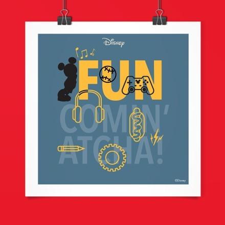 Fun Comin Atcha, Mickey Mouse.!