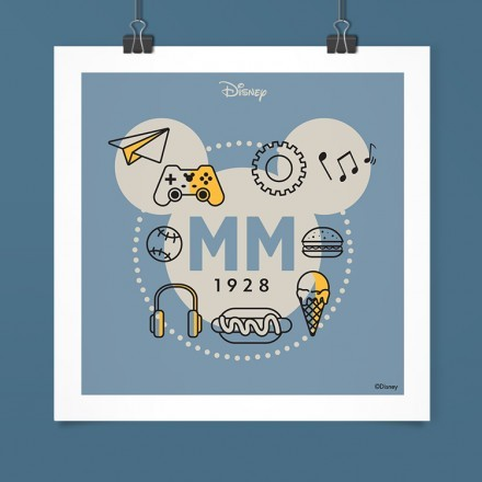 1928 ΜΜ, Mickey Mouse!
