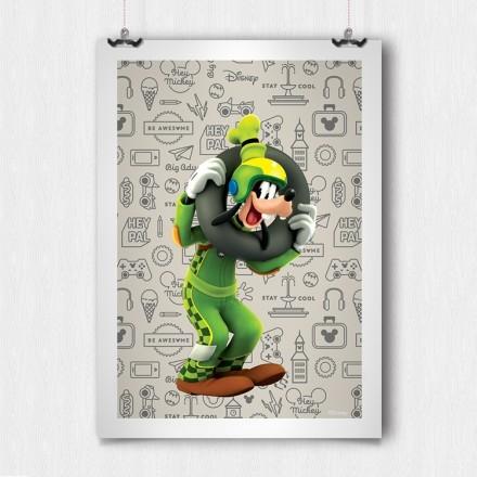 Goofy the  motorcyclist!!