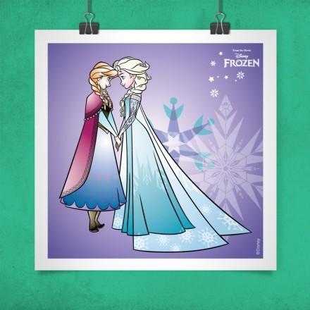 Οι αδερφές Έλσα και Άννα, Frozen!