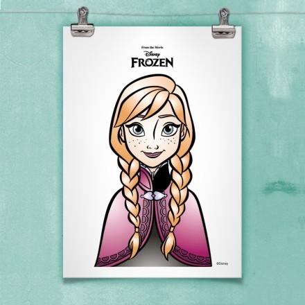 Η Άννα, Frozen.!