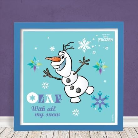 Olaf, with all my snow!