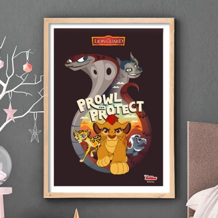 Prowl and protect, The Lion Guard!