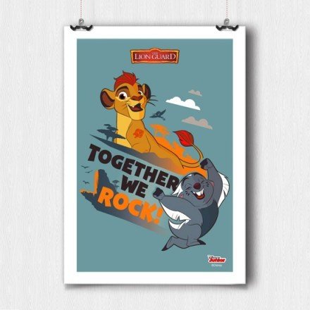 Together we rock, The Lion Guard