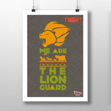 Είμαστε η φρουρά των λιονταριών, Lion Guard!