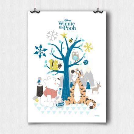Ο Winnie The Pooh με την Τίγρη στο χιόνι!