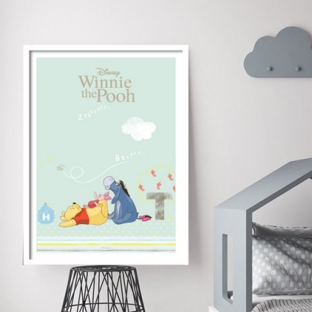 Ο Winnie the Pooh κοιμάται έξω!