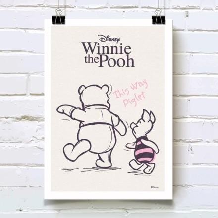Ο Winnie the Pooh και ο Piglet χέρι χέρι!