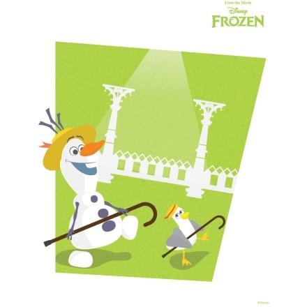 Ο Ολαφ χορεύει χαρούμενος, Frozen