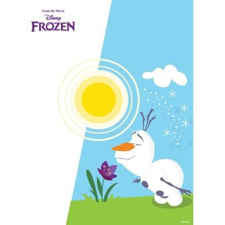 O Olaf μυρίζει ένα όμορφο λουλουδάκι, Frozen