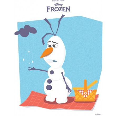 Λυπημένος Όλαφ, Frozen
