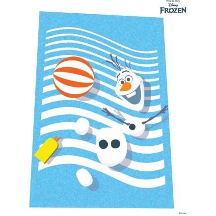 Ο Όλαφ παίζει με την μπάλα του, Frozen