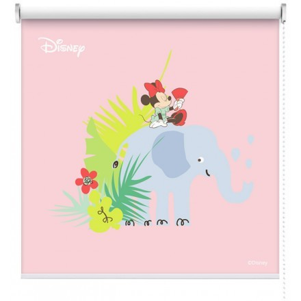 Minnie Mouse with elephant