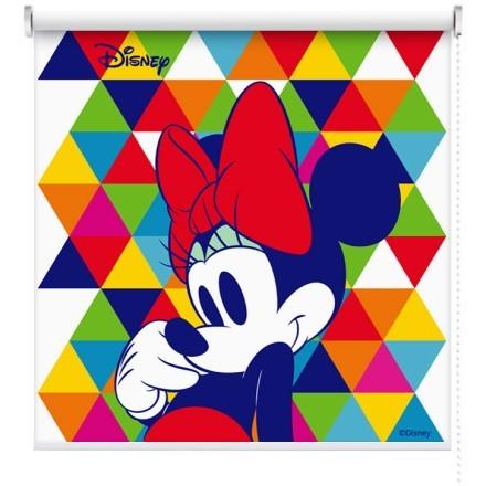 Πολύχρωμο μοτίβο με την Minnie Mouse