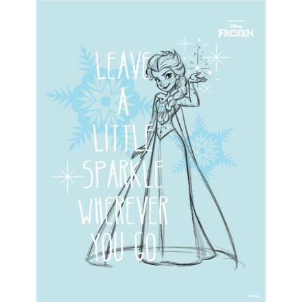 Leave a little sparkle, Frozen