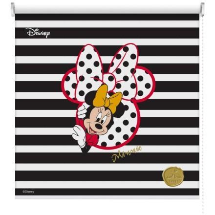 Minnie Mouse με ασπρόμαυρο φόντο