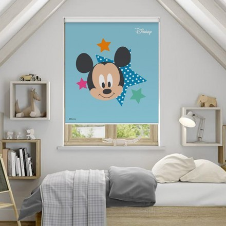 Mickey Mouse with stars