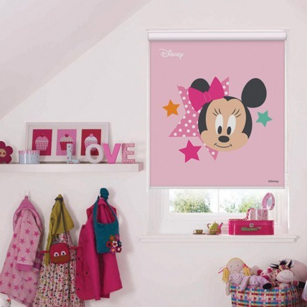 Minnie Mouse with stars