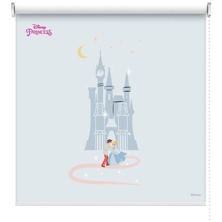 Cinderella near a castle