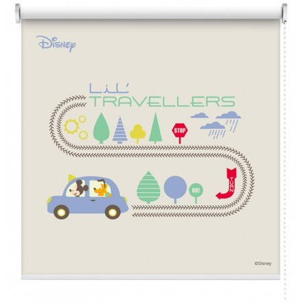 Little travelers, Mickey Mouse