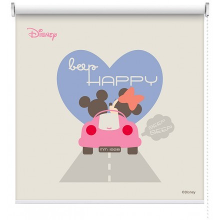 Be happy, Minnie & Mickey Mouse