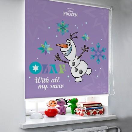 With all my snow, Olaf!