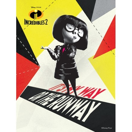 It is my way or the runway, Edna Mode