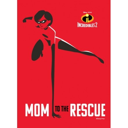 Mom to the rescue, Mrs Incredible