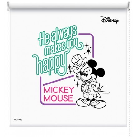 He always makes you happy, Mickey Mouse