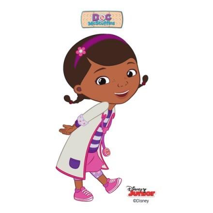 Η μικρή γιατρός χαμογελάει