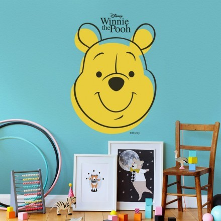 Face of Winnie the Pooh
