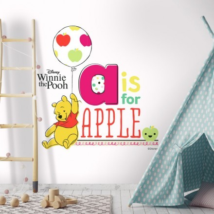 A is for apple,Winnie the Pooh