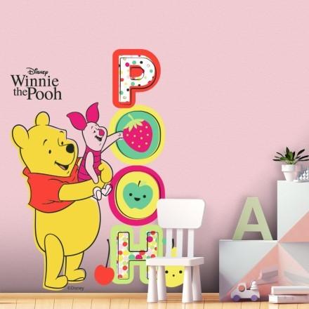 Winnie the Pooh με το γουρουνάκι