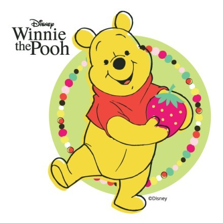 Winnie the Pooh με φράουλα