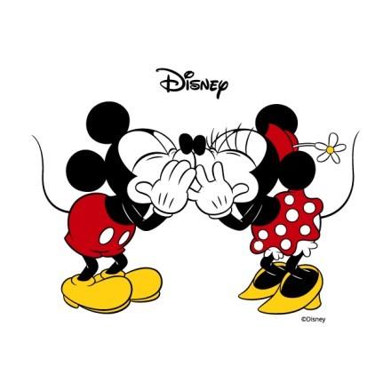 Minnie & Mickey Mouse δίνουν φιλάκια!