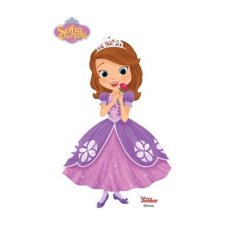 Η Σοφία η πριγκίπισσα με ένα τριανταφυλλάκι !