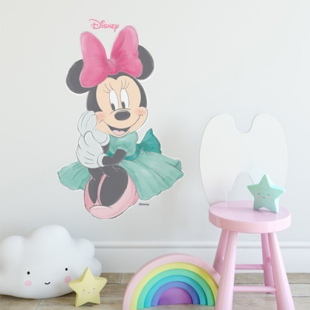 Floral Minnie Mouse
