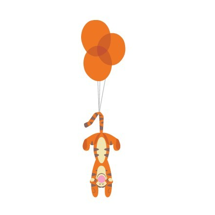 Ο Τίγρης με τα μπαλόνια !