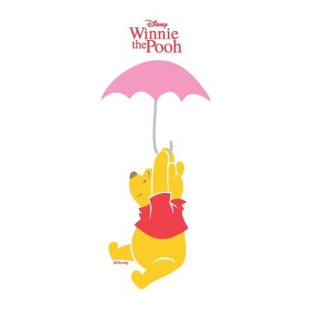 Ο Γουίνι πετάει με ομπρέλα!