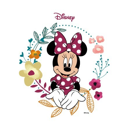Η Μίνυ Μάους μέσα σε στεφάνι από λουλούδια!