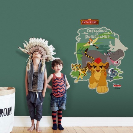 Προστατεύοντας τα περήφανα εδάφη, Guard Lion