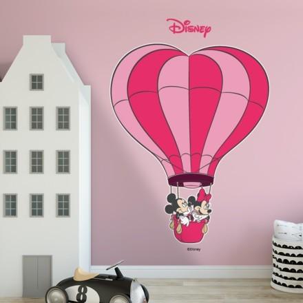 Ο Mickey και η Minnie στο αερόστατο