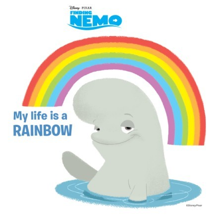 My life is a Rainbow, Finding Dory