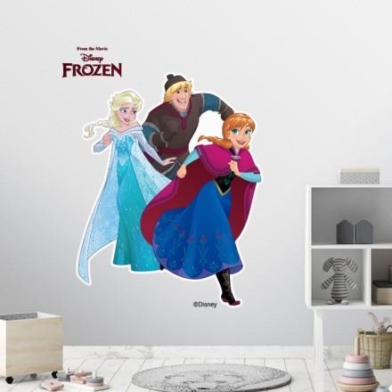 Kristoff, Elsa and Anna, Frozen!