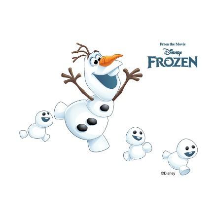Χαρούμενος Όλαφ με χιονόμπαλες!