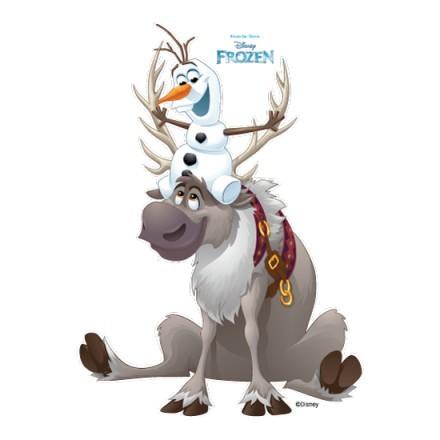Ο τάρανδος του Frozen, Svan!