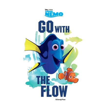Go with the flow, Finding Dory!!