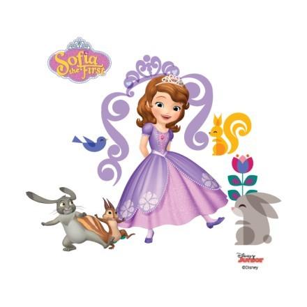 Η Σοφία η πριγκίπισσα με τους φίλους της