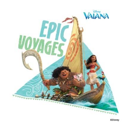 Epic voyages, Moana