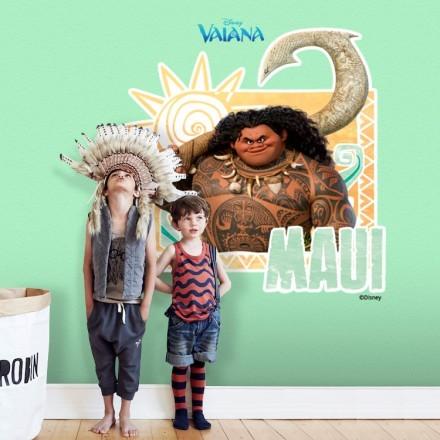 Maui is happy, Moana